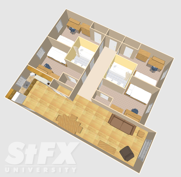 Apartment residence at StFX