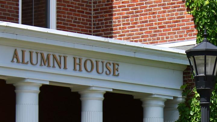 Alumni House campus building at StFX