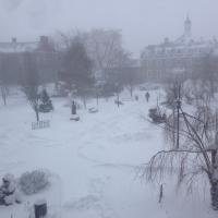 Xavier Square Snowstorm